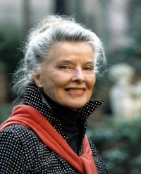 Katherine Hepburn as beautiful in old age as when young, if not more so